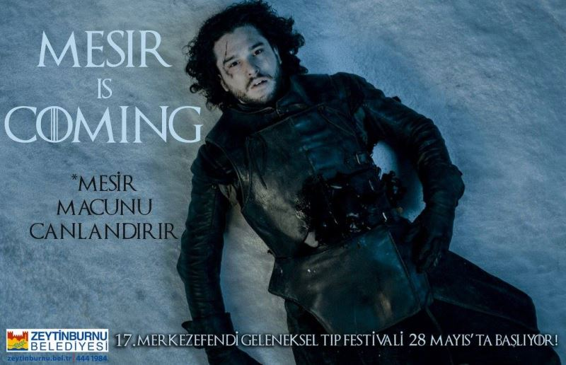 Zeytinburnu Belediyesi - Game Of Thrones