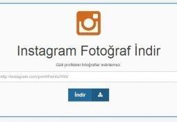 Instagram'dan Fotoğraf İndirmek Artık Çok Kolay!