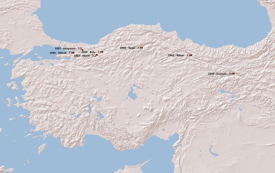 Türkiye Depremler