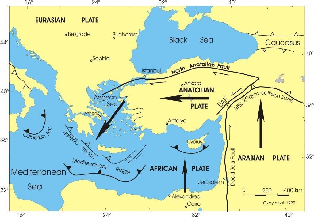 Türkiye'nin fay hatları
