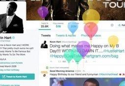 Twitter'da Uçan Renkli Balonlar