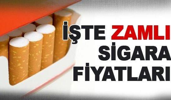 2016 Sigara Zammı Ve Yeni Fiyat Listesi Papik