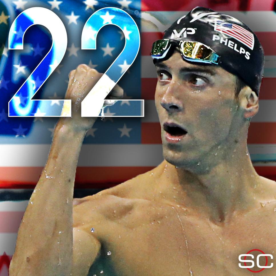 Michael Phelps ve 22. Madalya