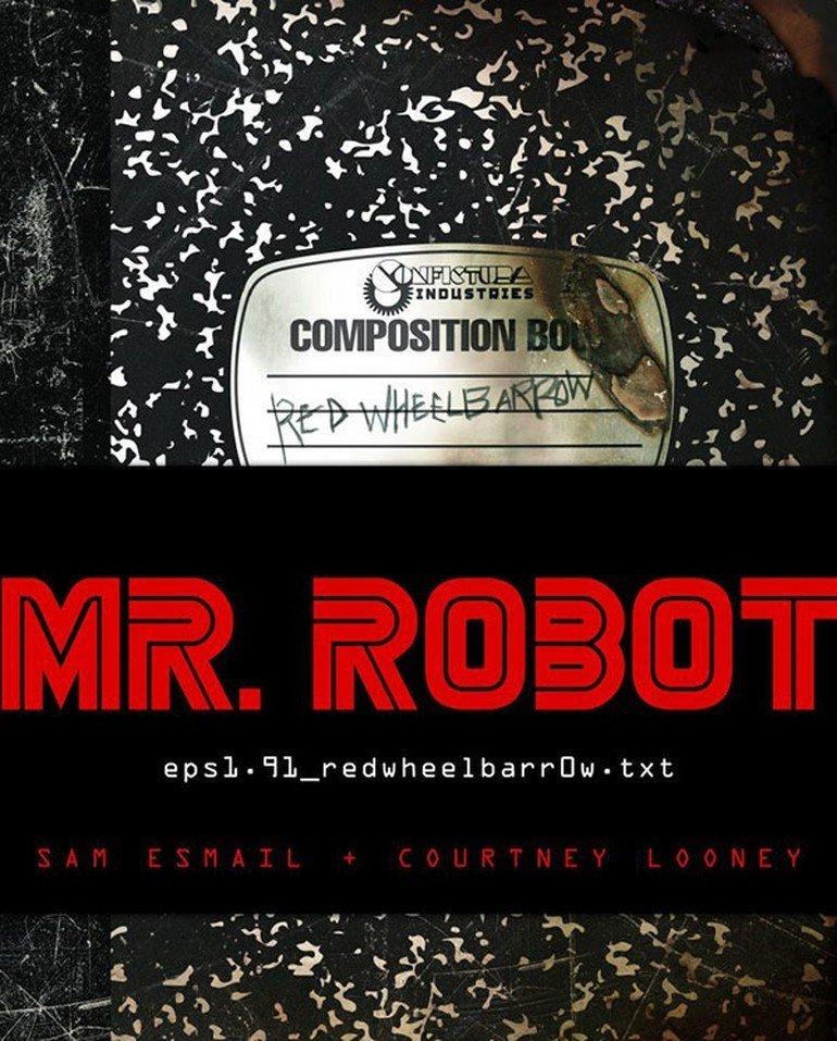 Mr. Robot'un Kitabı Geliyor