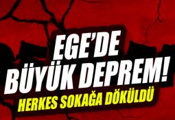 Ege'de (Gökova) 6.3 Büyüklüğünde Deprem!