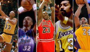NBA Tüm Zamanlar En Çok Sayı Atan Oyuncular Sıralaması