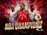 Şampiyon Toronto Raptors! MVP Kawhi Leonard!